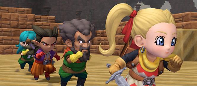 Dragon Quest Builders 2 : encore des images