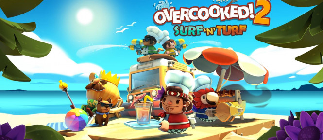 Overcooked 2 : que vaut le DLC Surf 'n' Turf ?