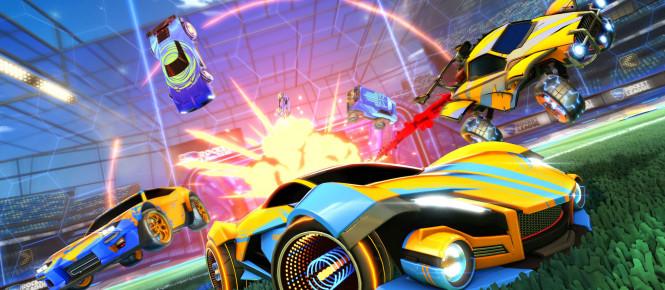Week-end double XP pour Rocket League