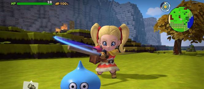 Une démo japonaise pour Dragon Quest Builders 2