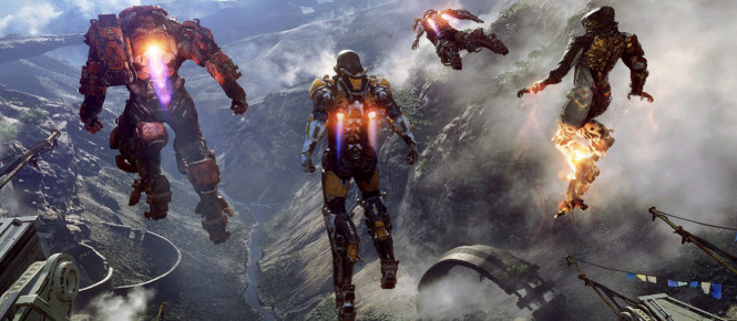 Pas de cross-play au lancement d'Anthem