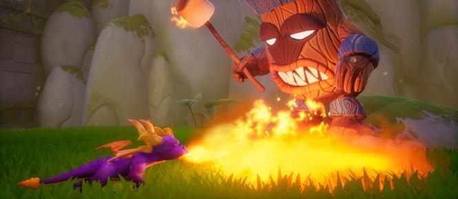 Spyro Reignited Trilogy : une vidéo pour la sortie