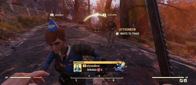 Fallout 76 : le chasseur et le chassé