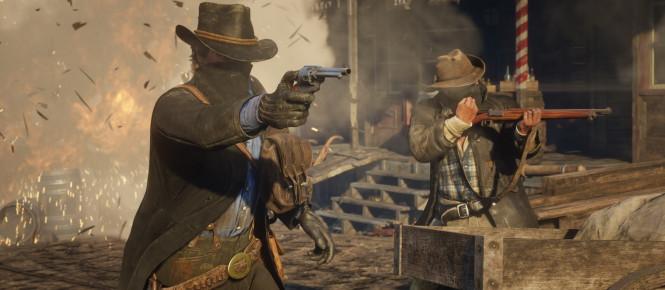 Red Dead Redemption 2 : gros succès au Royaume-Uni