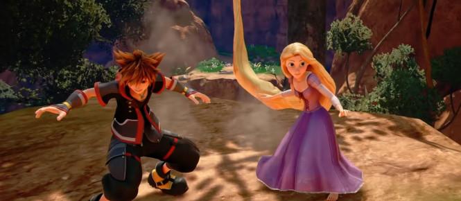 Kingdom Hearts III : le monde de Raiponce à l'honneur