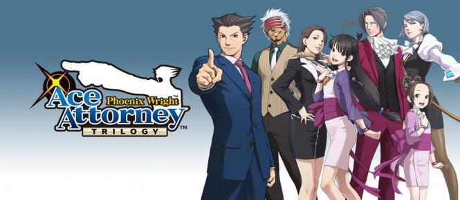 Ace Attorney : la trilogie se date au Japon