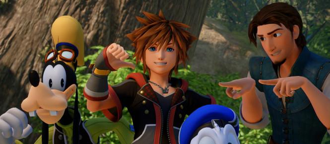 Kingdom Hearts III est gold en vidéo