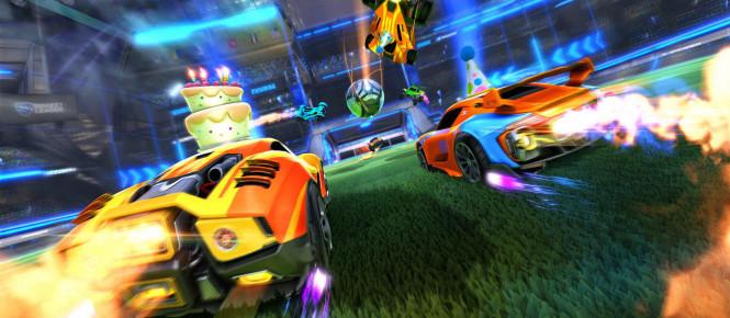 Rocket League va se patcher sur Xbox One X