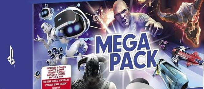 PS VR : Un Mega Pack en approche