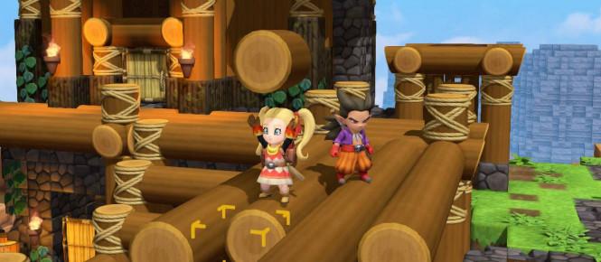 Dragon Quest Builders 2 explique la construction automatique