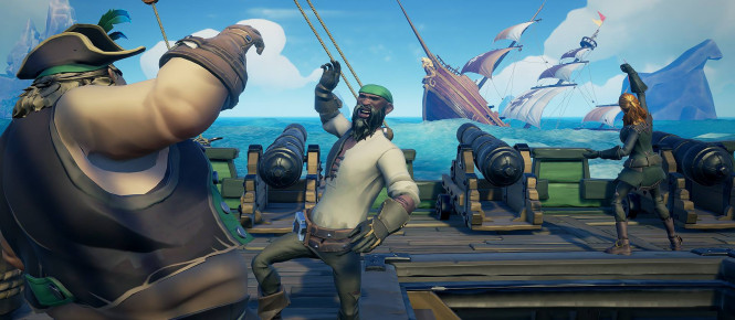 Sea of Thieves va réduire sa taille