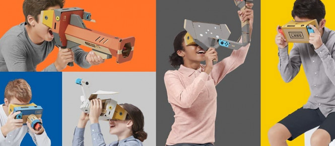 Nintendo se lance dans la VR