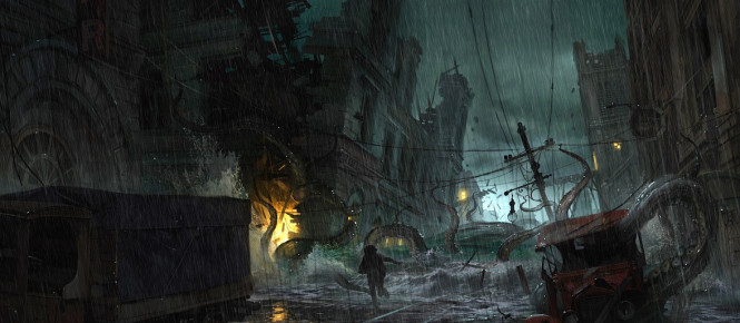 Gros report pour The Sinking City