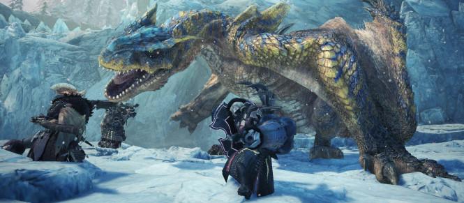 Monster Hunter World : une bêta PS4 en approche pour Iceborne