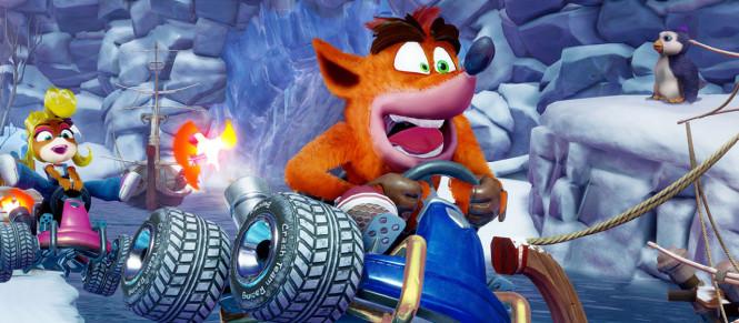 Joli lancement pour Crash Team Racing au Royaume-Uni