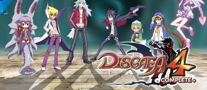Disgaea 4 Complete+ daté sur PS4 et Switch