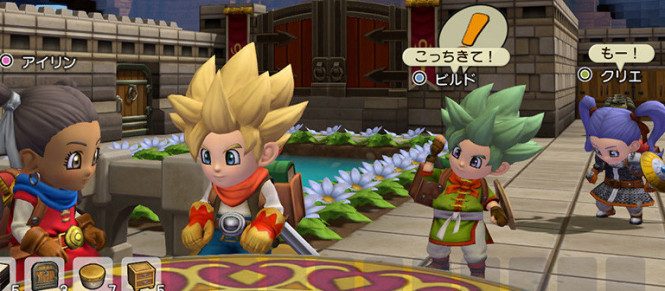 Dragon Quest Builders 2 : le mode multi s'illustre