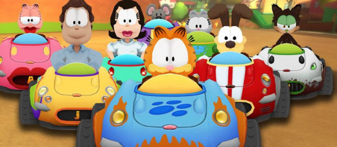 Garfield Kart Furious Racing annoncé