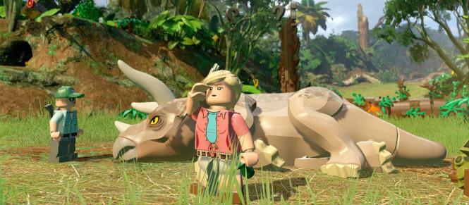 LEGO Jurassic World aussi sur Switch