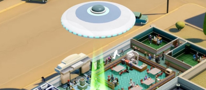 Un DLC alien pour Two Point Hospital