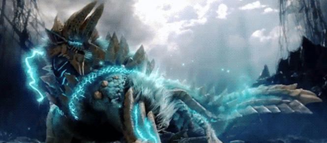 MHW Iceborne : le Zinogre est présenté en vidéo