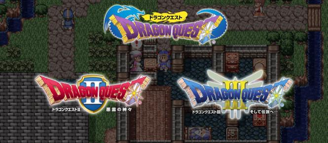 Dragon Quest I, II et III déboulent sur l'eShop