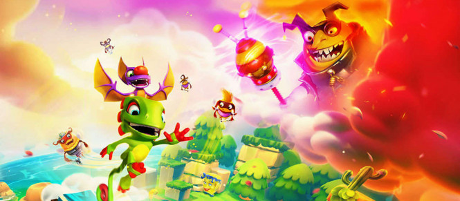 Yooka-Laylee and the Impossible Lair balance son trailer de lancement