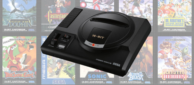 Baisse de prix (temporaire ?) pour la Mega Drive Mini