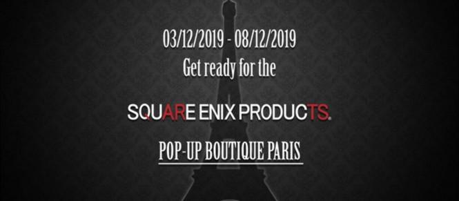 Square Enix : une boutique (très) éphémère à Paris