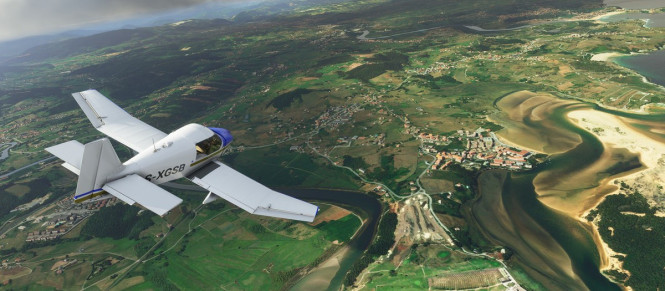 Un peu de gameplay pour Microsoft Flight Simulator