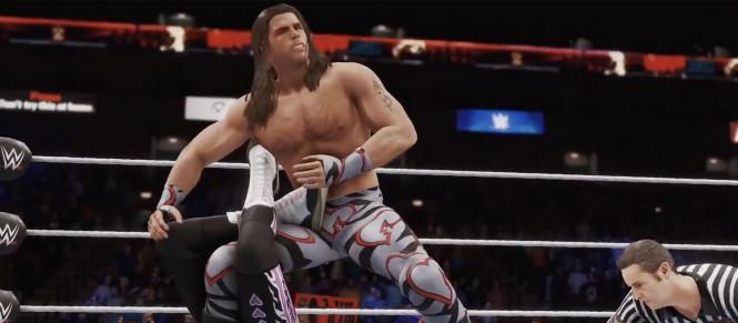 WWE 2K20 : le bug du nouvel an est réparé