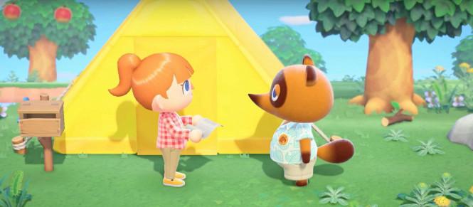 Animal Crossing : New Horizons présente sa pub