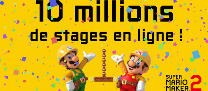 Super Mario Maker 2 : 10 millions de stages créés