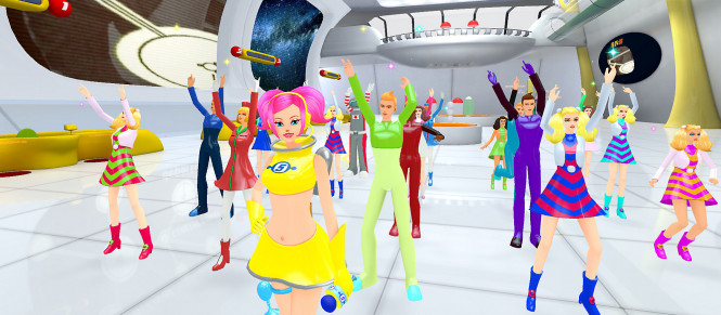 Une démo pour Space Channel 5 VR