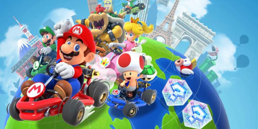 Mario Kart Tour : le multi sortira le...