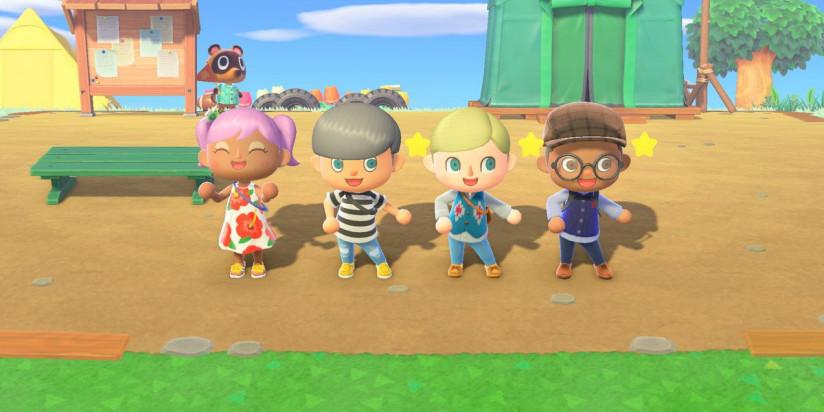 Animal Crossing : New Horizons : une mise à jour supprimant un glitch