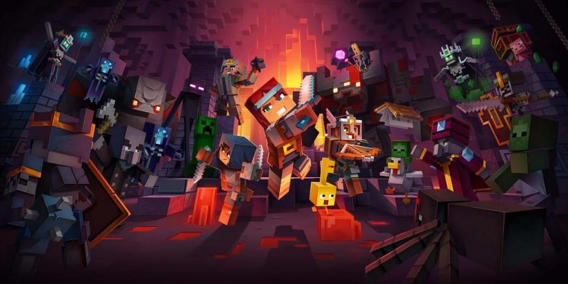 Petit retard pour Minecraft Dungeons