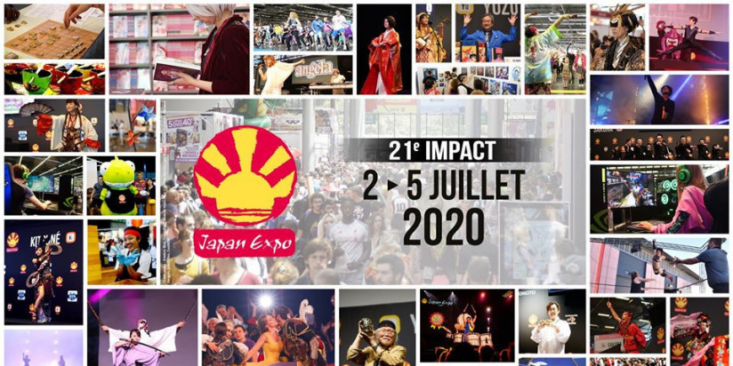 La Japan Expo 2020 n'aura pas lieu
