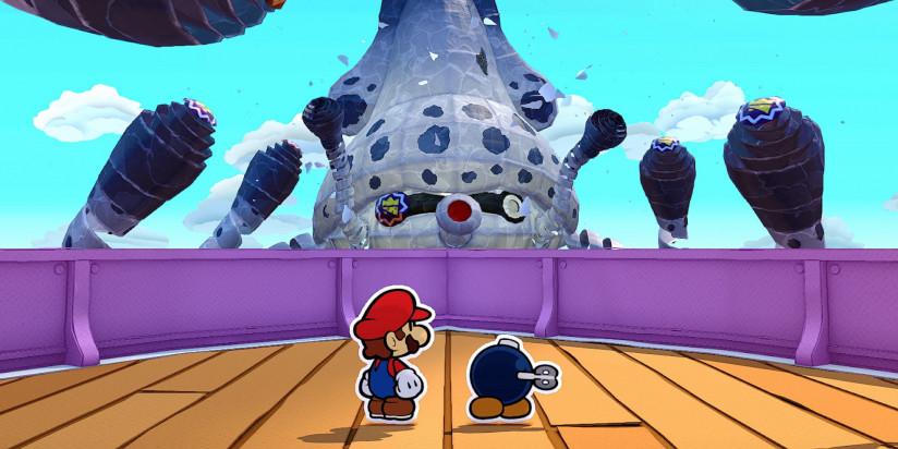 Paper Mario : The Origami King se détaille un peu plus