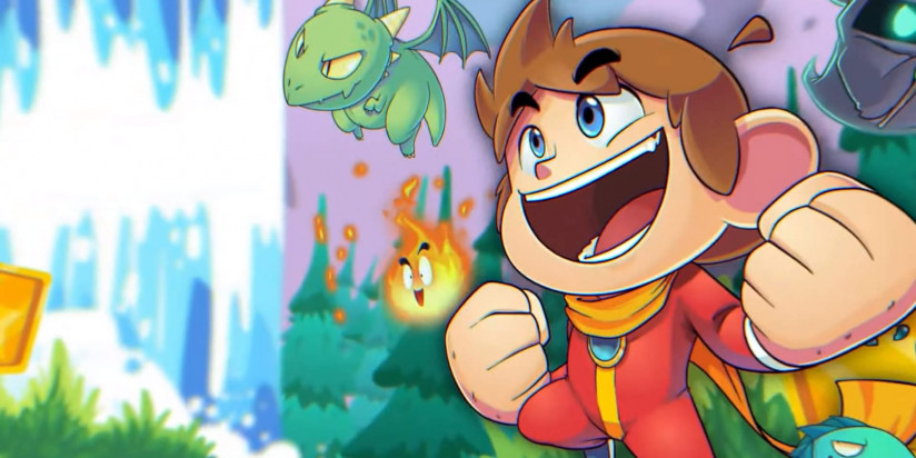 Alex Kidd in Miracle World DX annoncé