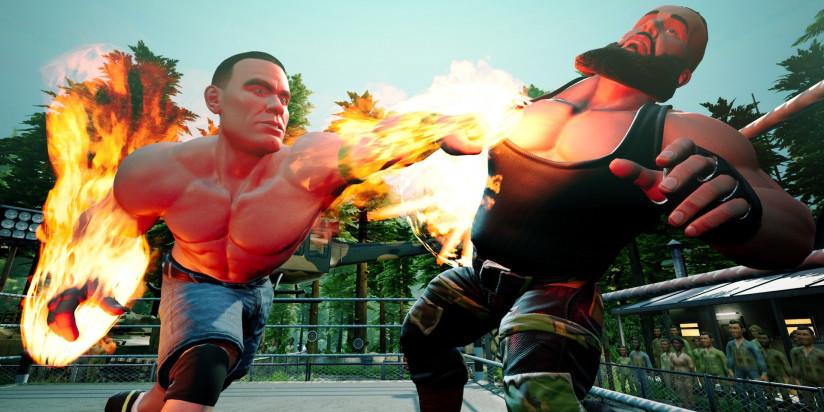WWE 2K Battlegrounds : date et infos
