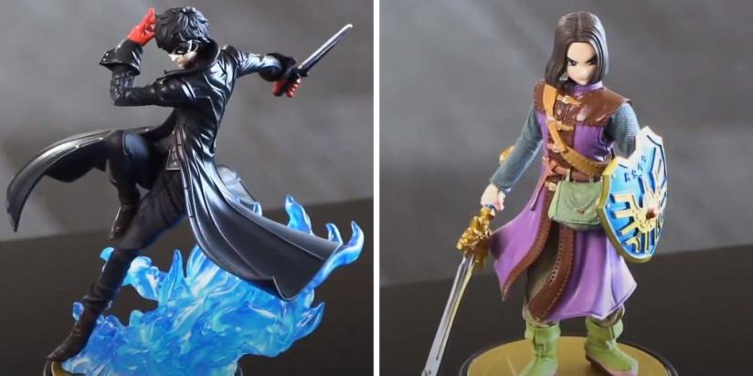 Une date pour les amiibo Joker et le héros de Dragon Quest