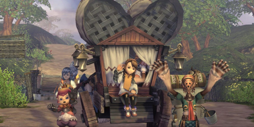 Pas de multi local pour Final Fantasy Crystal Chronicles Remastered Edition