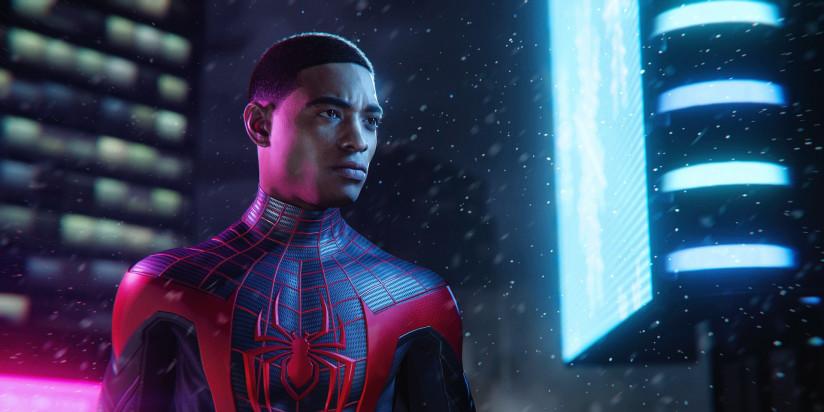 Spider-Man : Miles Morales et une seule image
