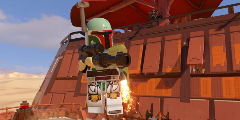 Une fenêtre de sortie et du gameplay pour LEGO Star Wars : La Saga Skywalker