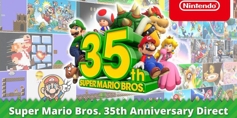 35 ans de Mario : une flopée d'annonces