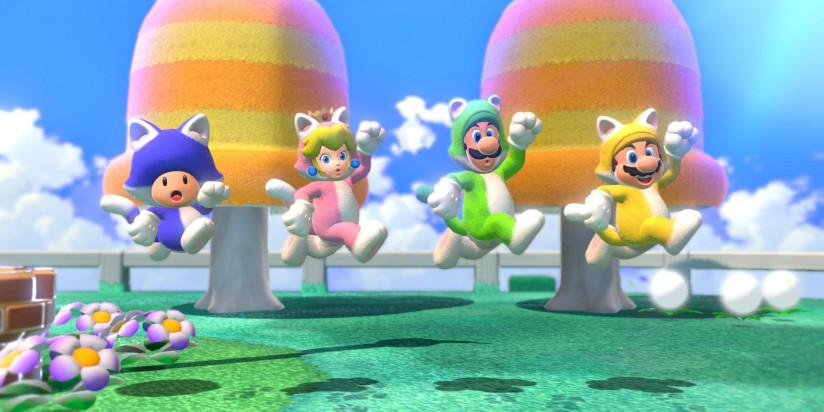 Des amiibo pour Super Mario 3D World