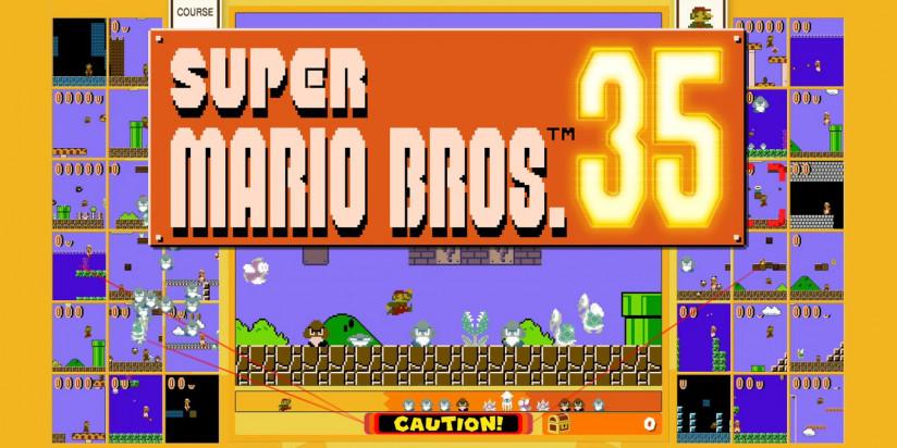 Super Mario. 35 est disponible