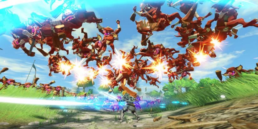 Longue vidéo de gameplay pour Hyrule Warriors : l'Ère du Fléau