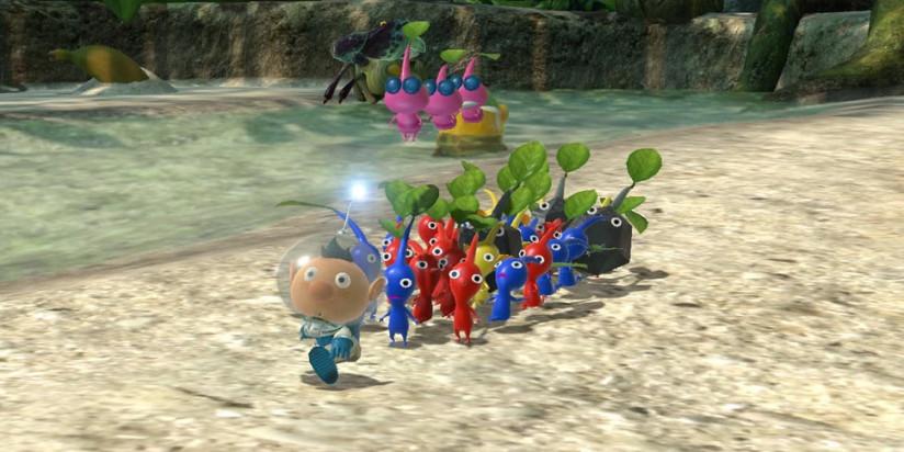 Pikmin 3 Deluxe est de sortie sur Nintendo Switch